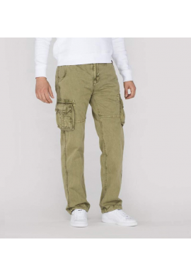 Kalhoty JET PANT Alpha Industries LIGHT OLIVE