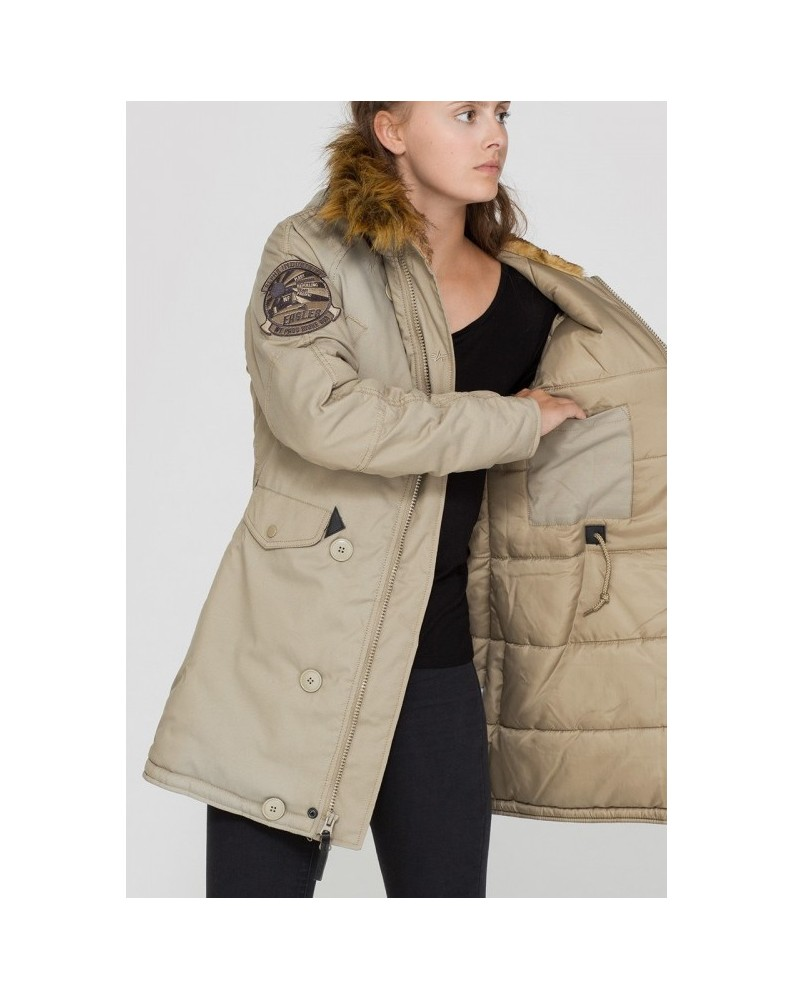 Dámská bunda EXPLORER Wmn. Alpha Industries  KHAKI