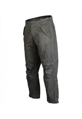 Letecké předeprané kalhoty PILOT ZELENÉ