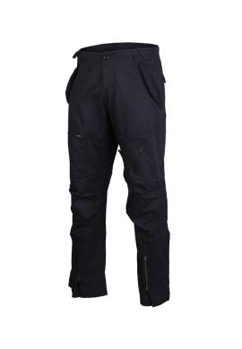 Letecké předeprané kalhoty PILOT ČERNÉ