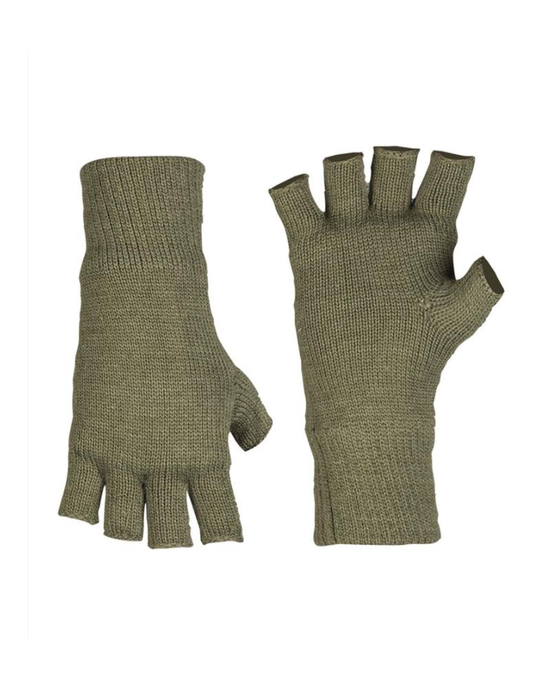 Pletené rukavice bez prstů THINSULATE OLIVOVÉ