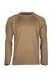 Rychleschnoucí triko s dlouhým rukávem DARK COYOTE (TMAVĚ PÍSKOVÉ)