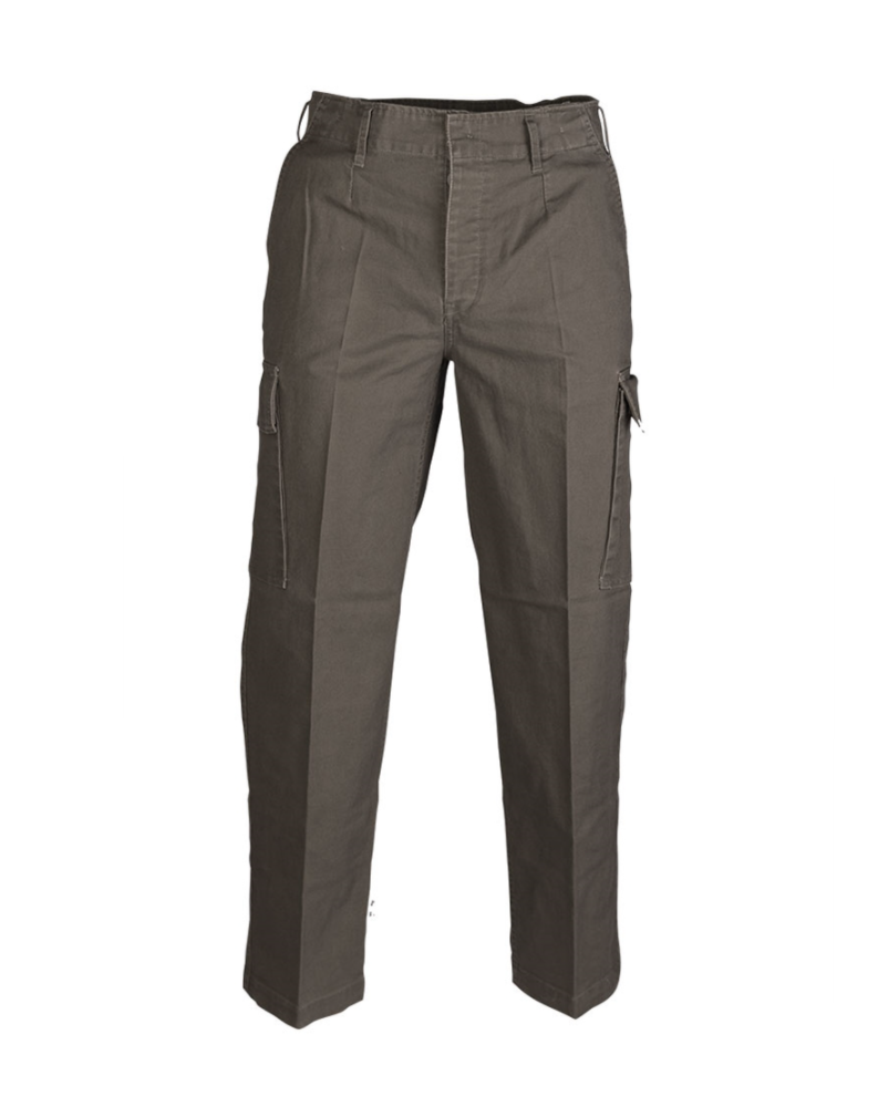 BW MOLESKIN kalhoty předeprané OLIVOVÉ