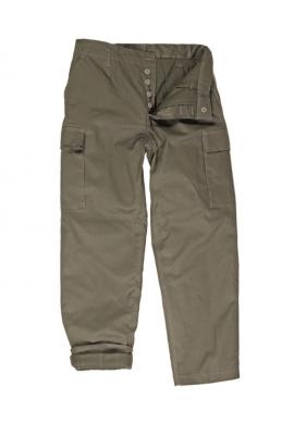 BW MOLESKIN kalhoty S termovložkou OLIVOVÉ