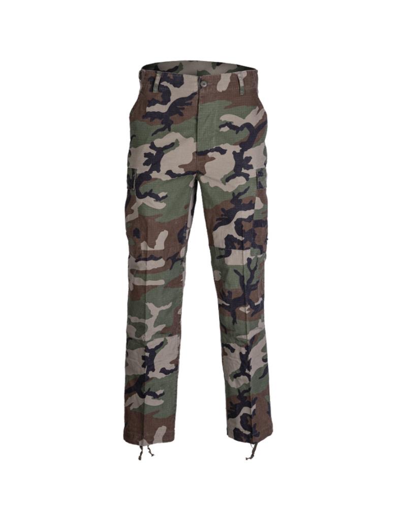 US kalhoty BDU RIPSTOP CO. předeprané WOODLAND