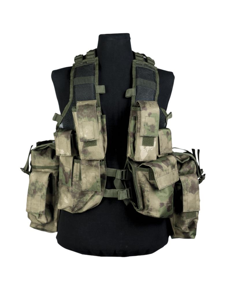 Taktická vesta 12 kapes MIL-TACS FG