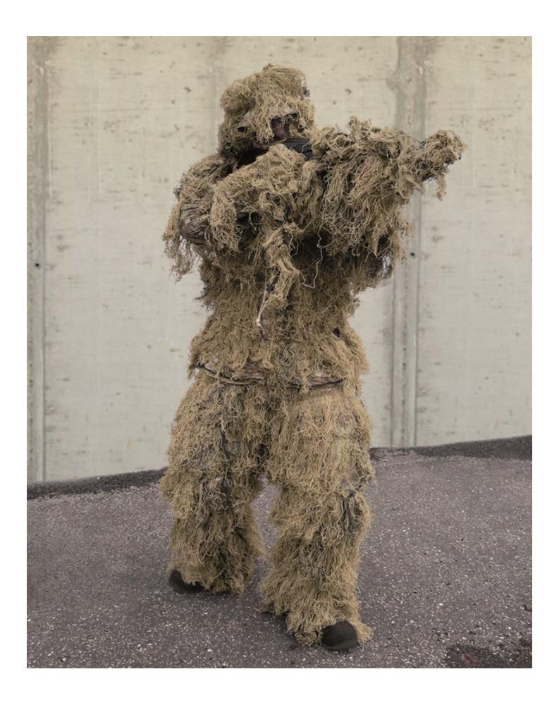 """4-Dílný maskovací oblek Hejkal """"ANTI FIRE"""" PRO DIGITAL DESERT"""