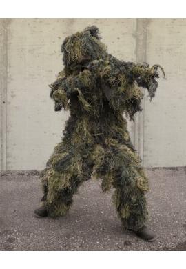 """4-Dílný maskovací oblek Hejkal """"ANTI FIRE"""" PRO WOODLAND"""