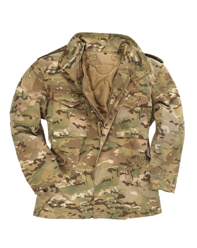 US Polní bunda M65 s vložkou KHAKI