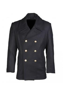 BW námořnický kabát TMAVĚ MODRÝ (se zlatými knoflíky)