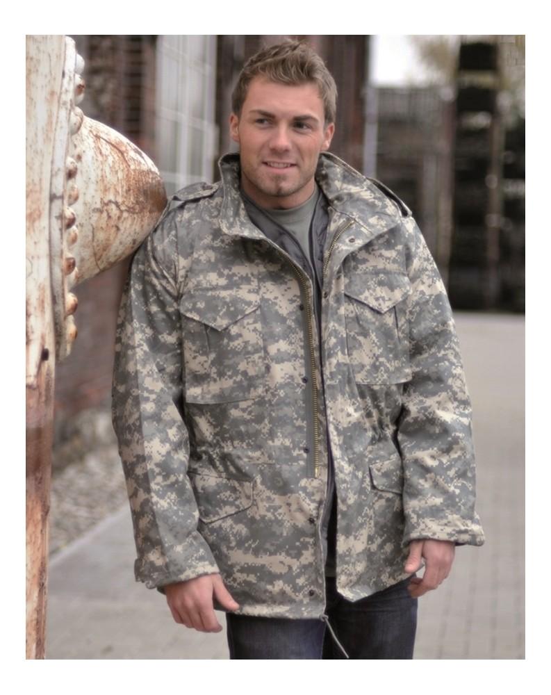 US polní bunda M65 s vložkou AT-DIGITAL