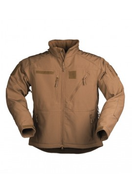 Bunda softshell SCU 14 MULTITARN® DARK COYOTE
