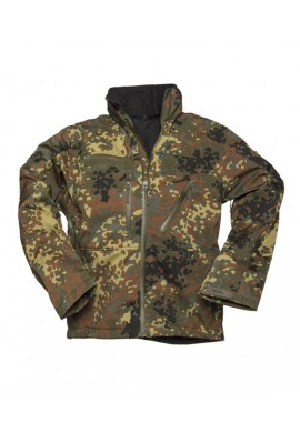 Bunda softshell SCU 14 MULTITARN® FLECKTARN