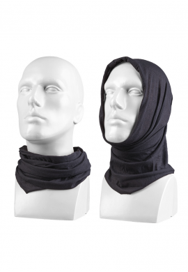 Multifunkční šátek ČERNÝ