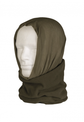 Multifunkční šátek FLEECE OLIVOVÝ