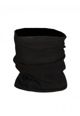 Multifunkční šátek FLEECE ČERNÝ