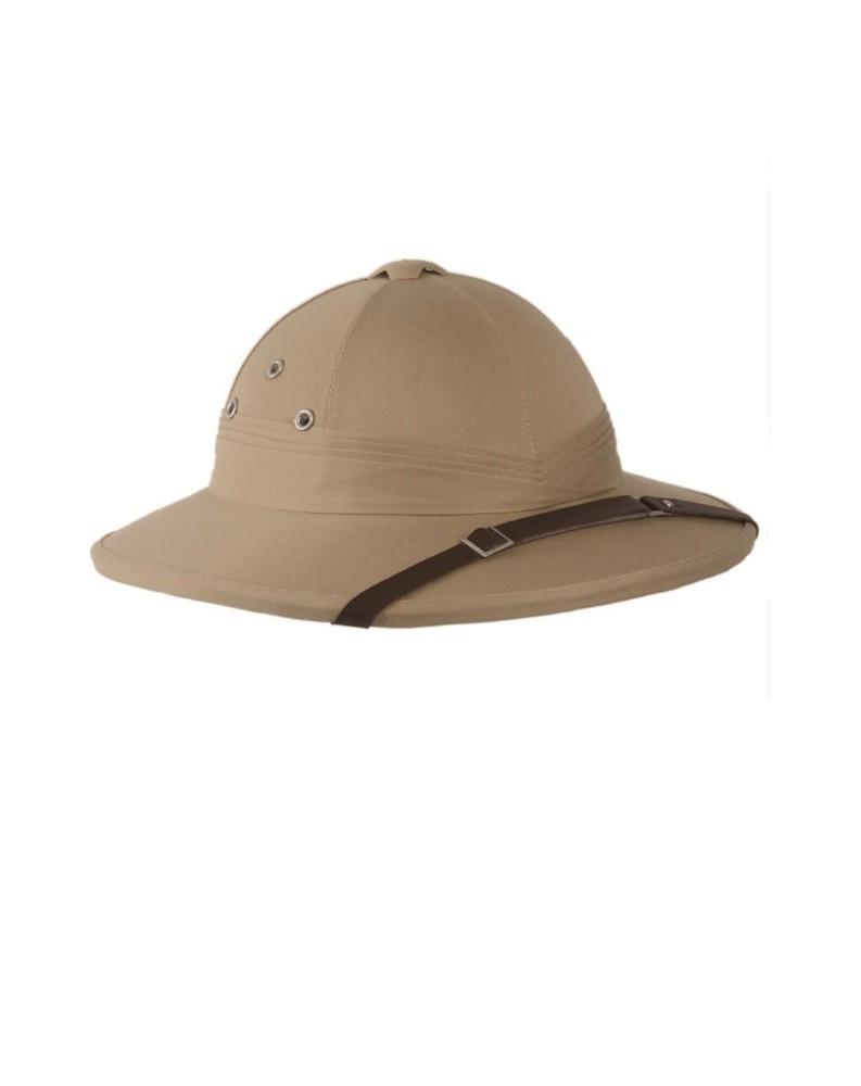 Francouzská tropická helma KHAKI