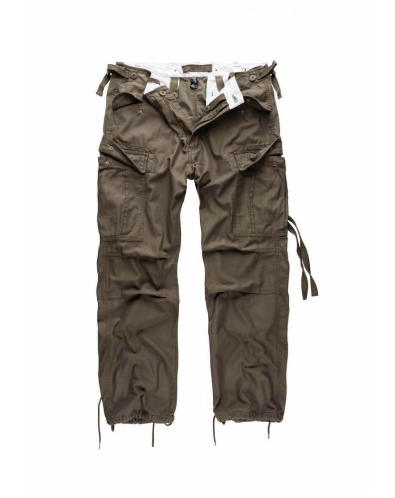 Kalhoty M65 VINTAGE FATIGUES OLIVOVÉ