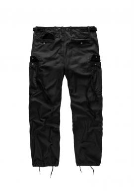 Kalhoty M65 VINTAGE FATIGUES ČERNÉ