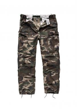 Kalhoty M65 VINTAGE FATIGUES WOODLAND