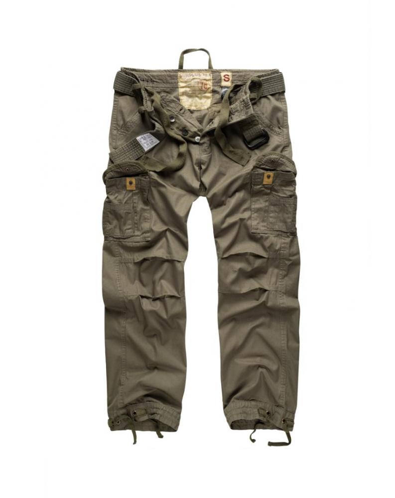 Kalhoty VINTAGE PREMIUM OLIVOVÉ