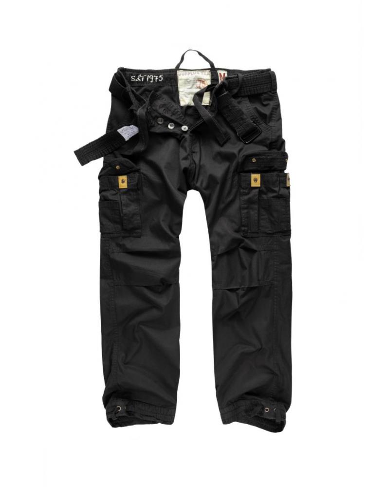 Kalhoty VINTAGE PREMIUM ČERNÉ