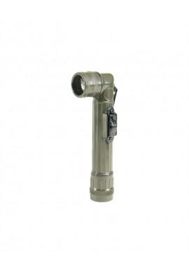 US baterka koleno malá (2AA) LED olivová