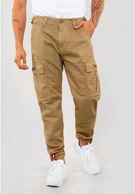 Kalhoty SQUAD PANT Alpha Industries KHAKI