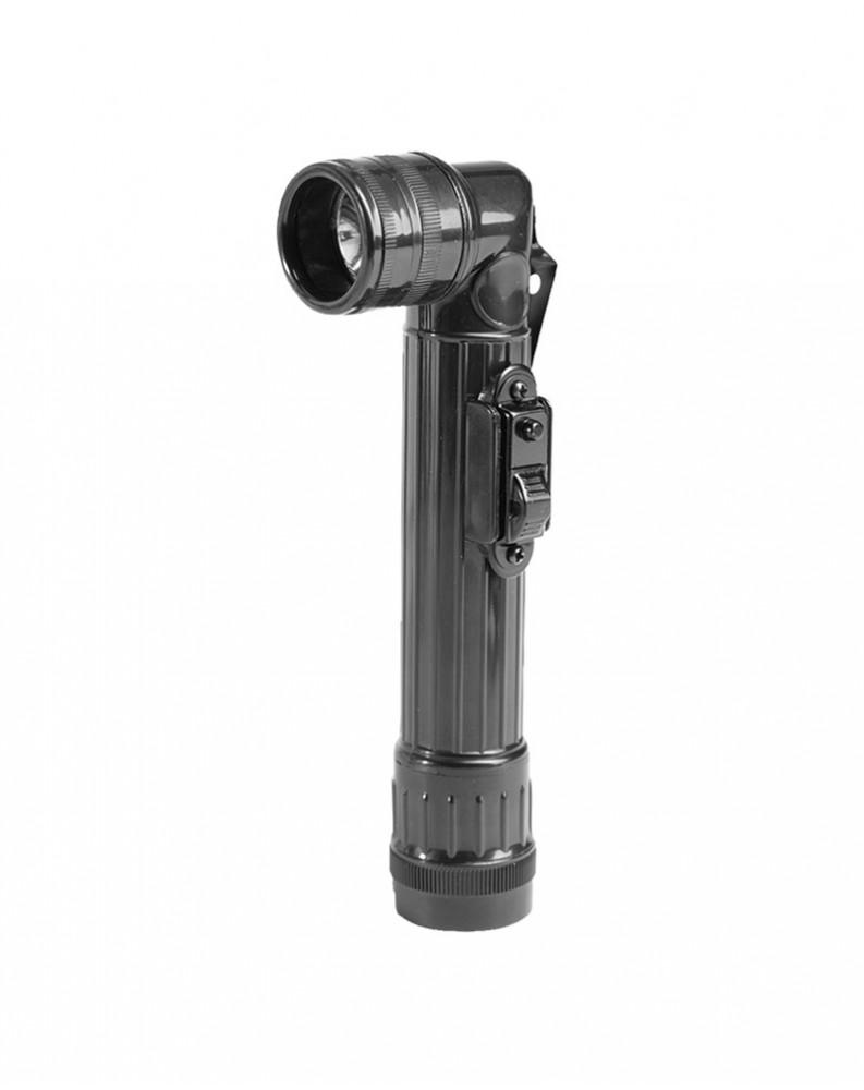US baterka koleno střední (2 C) LED černá