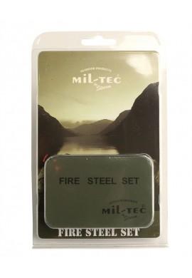 """Set """"Fire Steel"""" na rozdělání ohně s pouzdrem"""