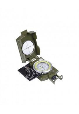 Italský armádní kompas s kovovým krytem