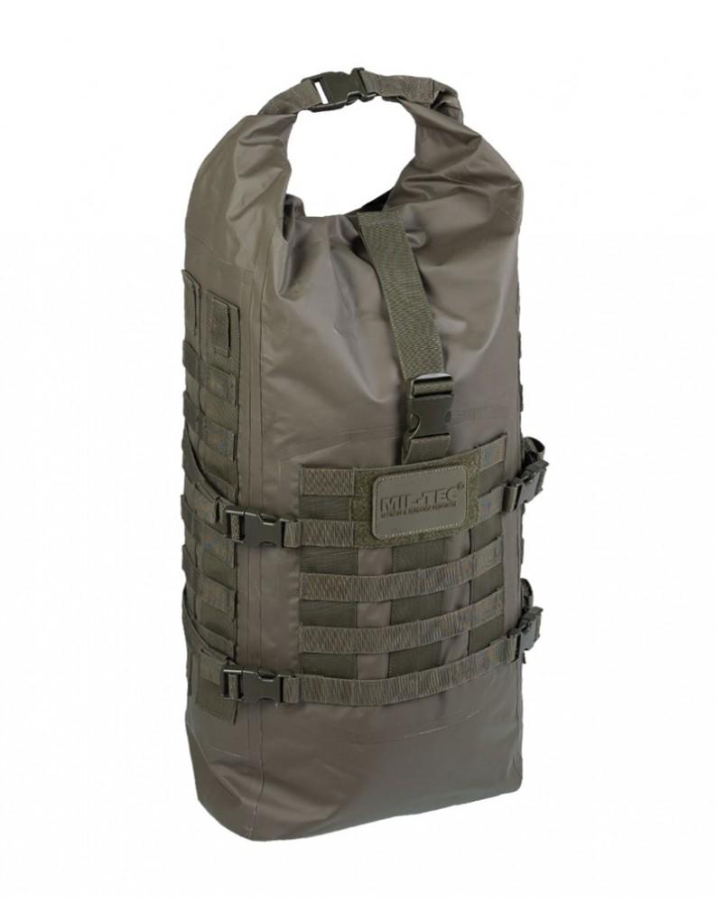 Taktický nepromokavý batoh SEALS DRY-BAG olivový