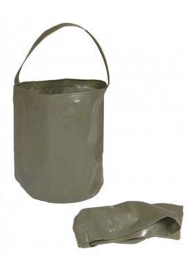Skládací vědro na vodu 10L olivové