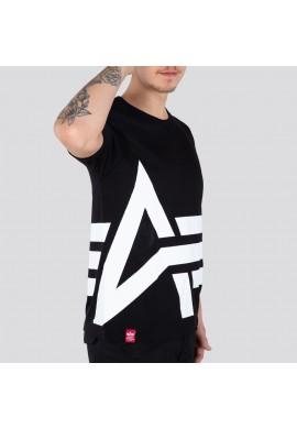 Tričko Side Logo T Alpha Industries černé