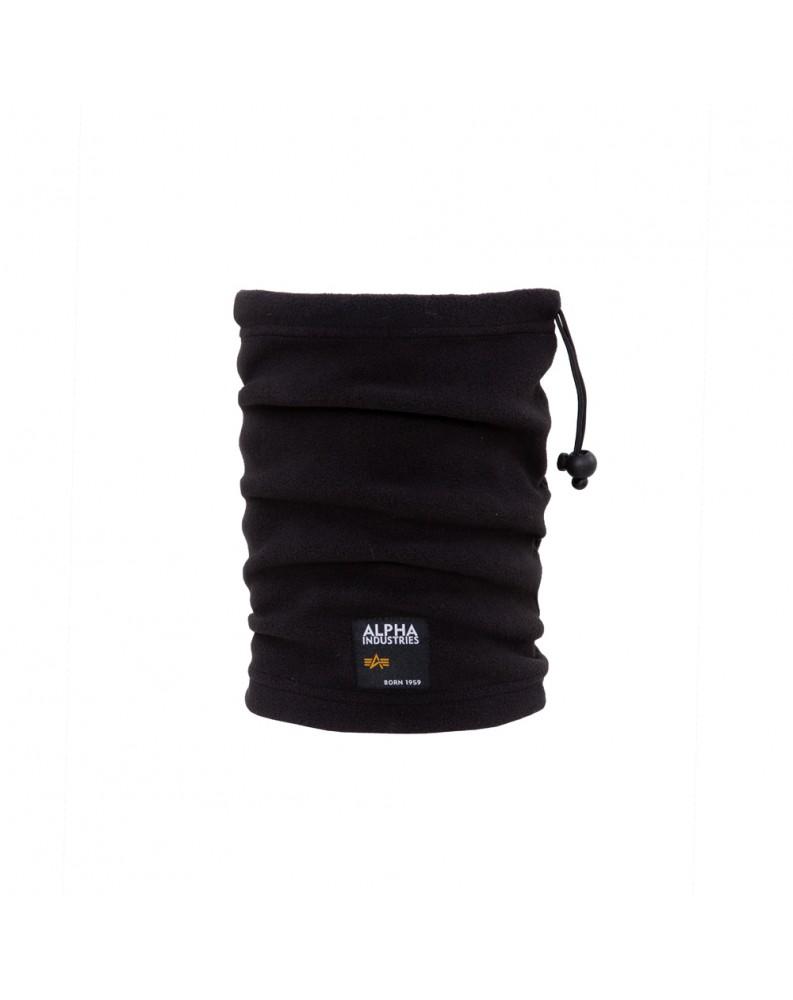 Nákrčník Label Fleece Tube Alpha Industries černý