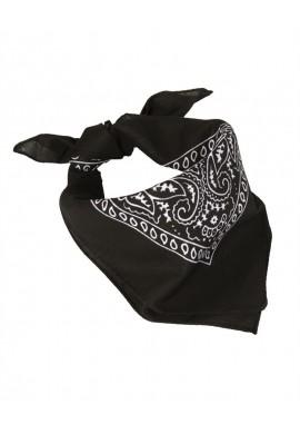Westernový šátek / BANDANA černý