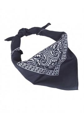 Westernový šátek BANDANA modrý