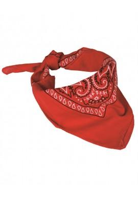 Westernový šátek BANDANA červený