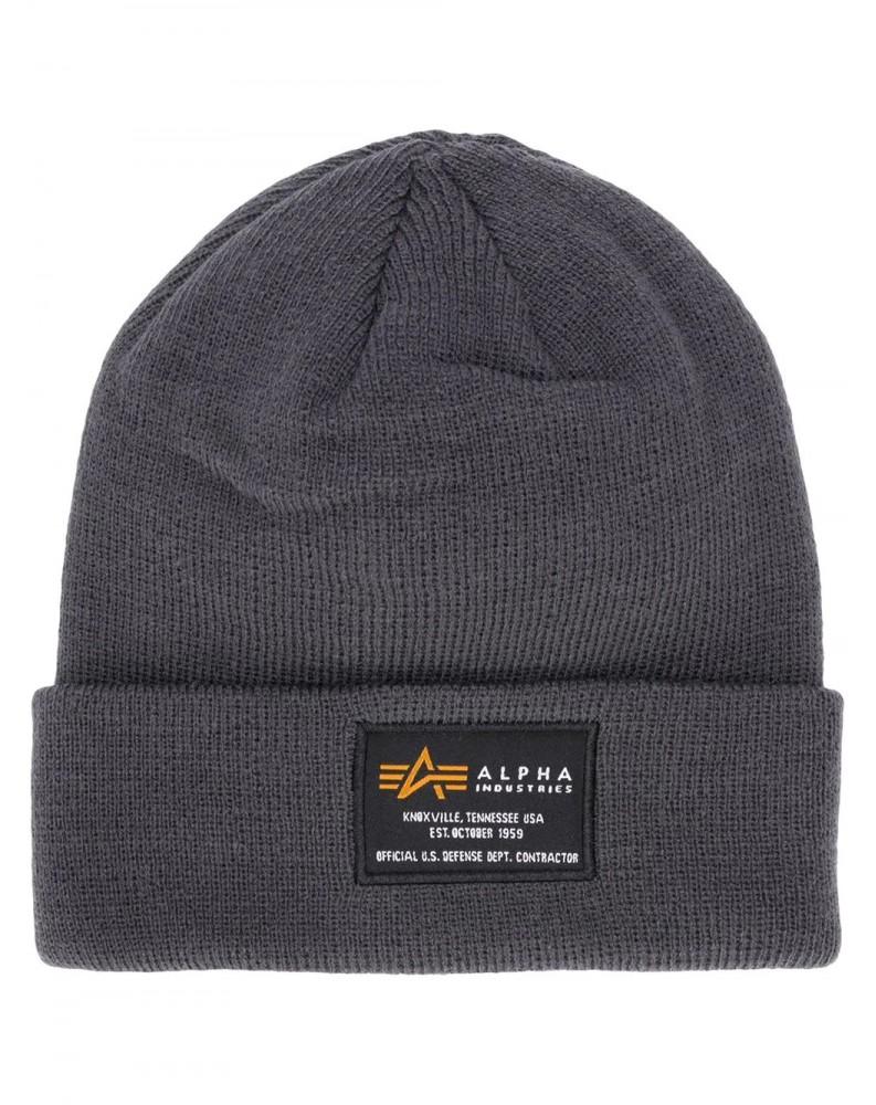 Čepice Alpha Industries CREW BEANIE rep.grey