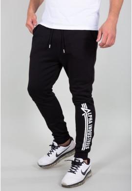 Sportovní kalhoty tepláky ALPHA INDUSTRIES JOGGER černé