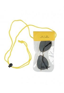 Vodotěsné pouzdro na krk 195x95mm žluté