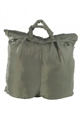 US taška na helmu s popruhem olivová