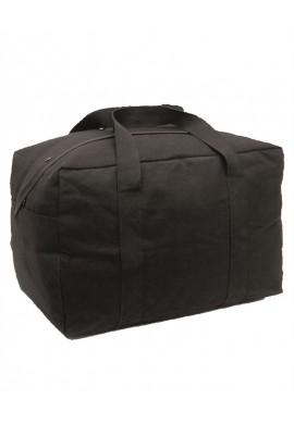 Taška PILOT velká bavlněná černá