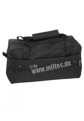 Příruční taška malá 600D polyester černá 30x15x12,5