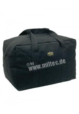 Letecká taška bavlna černá 60x40x31