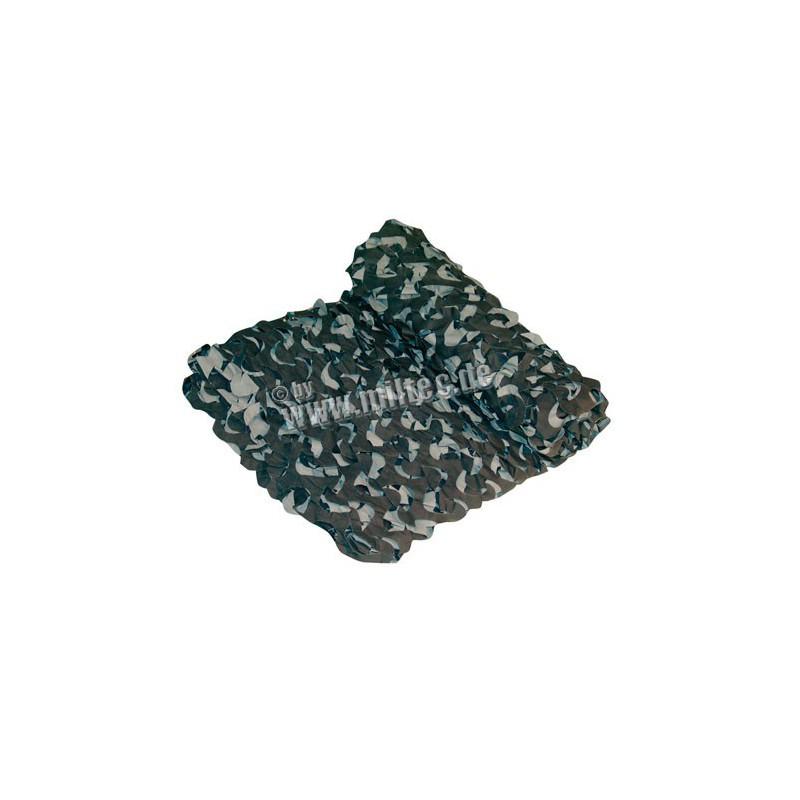 Maskovací síť PRO crazy camo 2,4x3 m černá
