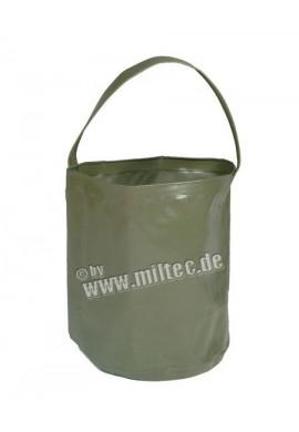 Skládací vědro na vodu 10L oliv