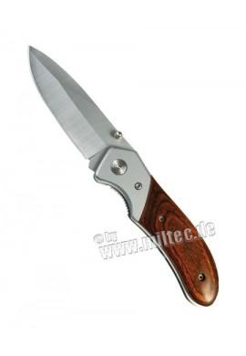 Zavírací nůž s dřev. střenkami
