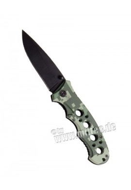 Zavírací nůž s plast střenkami AT digital děrovaný