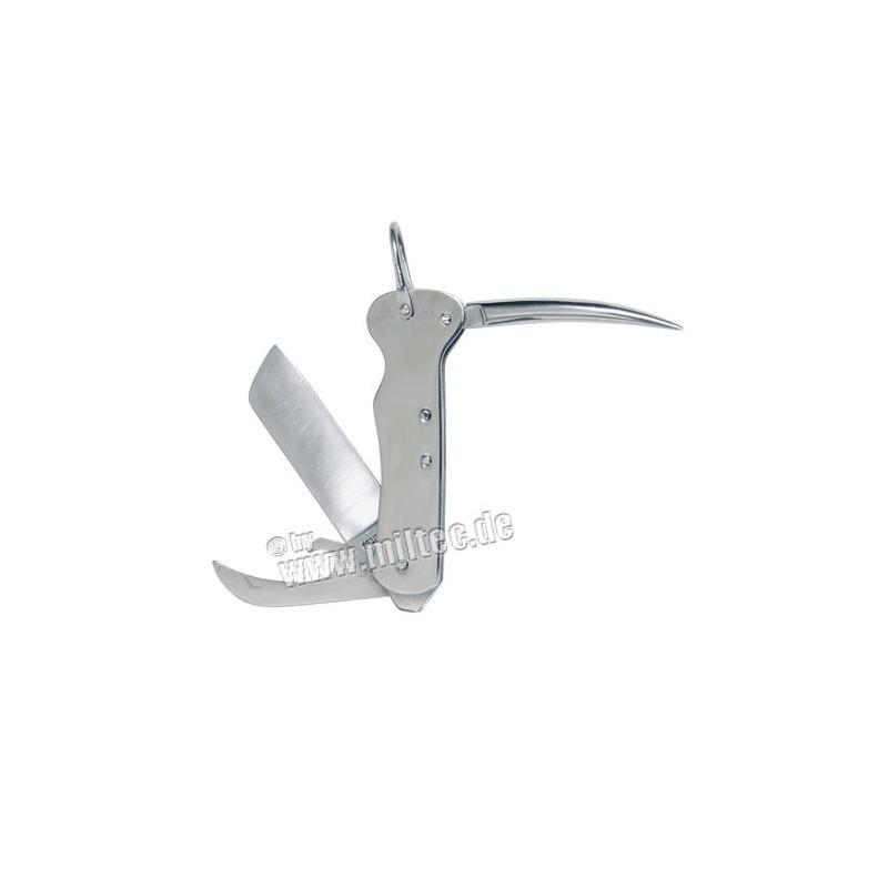 Kapesní nůž námořnický stříbrný